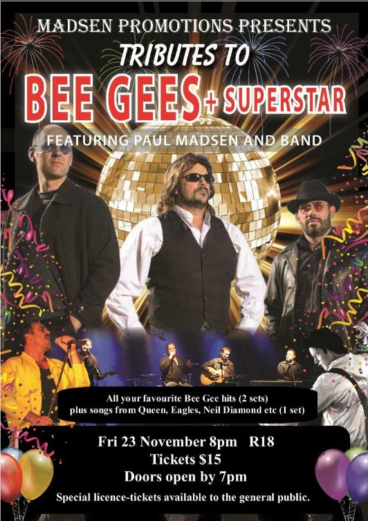 Tribute to Bee Gees + SuperStar