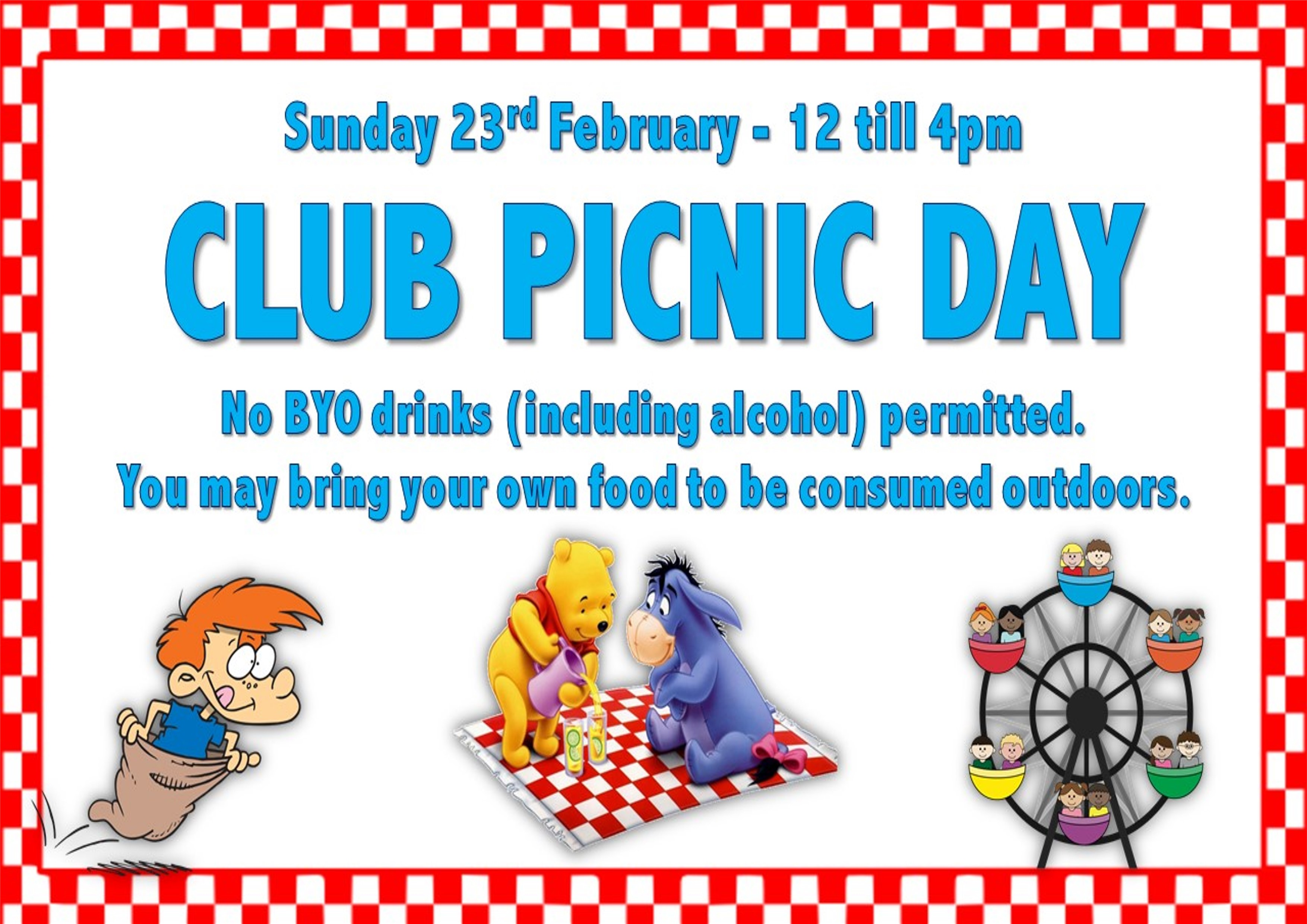 CLUB PICNIC DAY