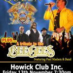 Tribute to Queen and the BeeGees